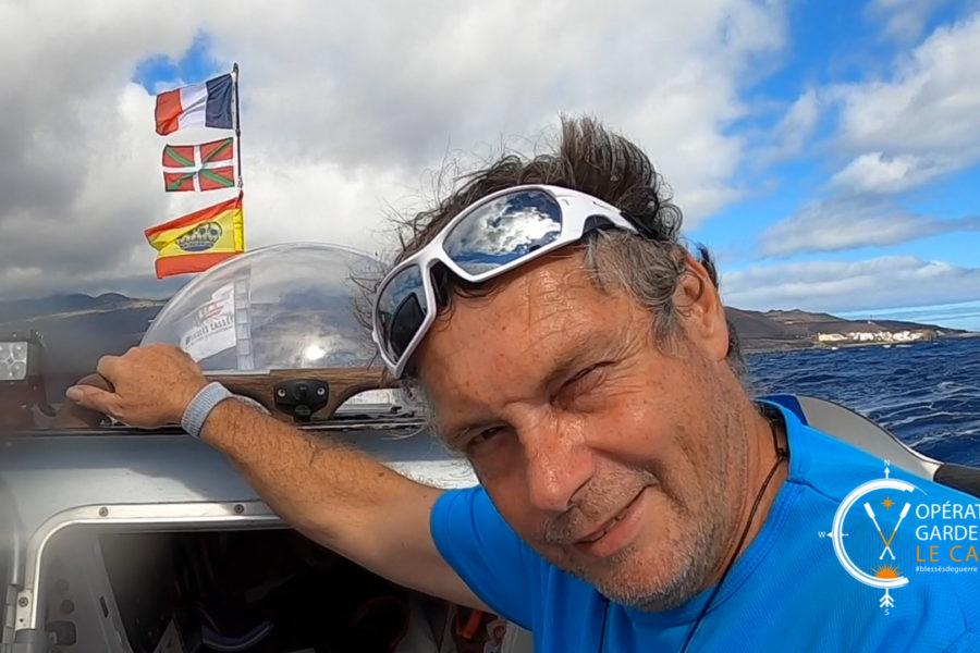 Jean-Marc DUPONT est parti traverser l'Atlantique à la rame
