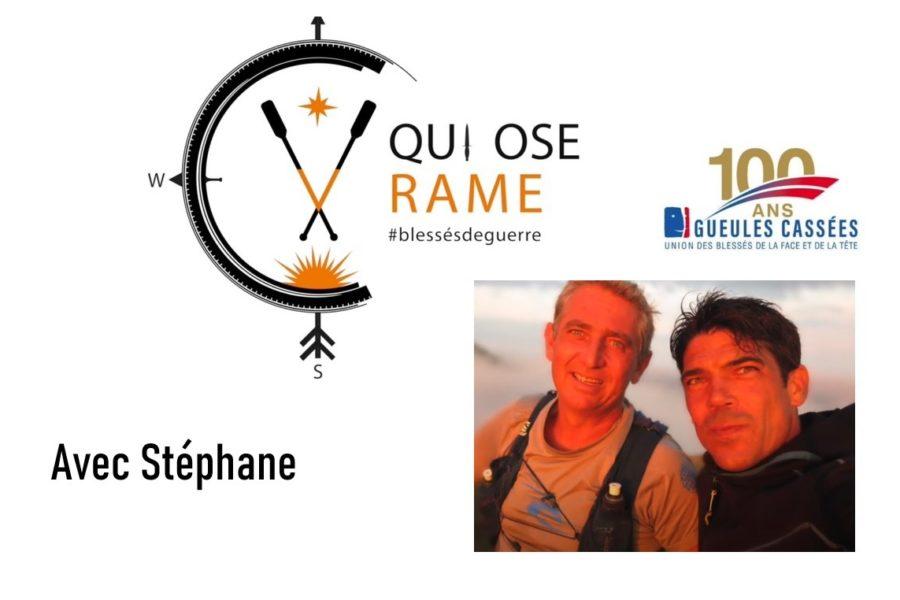 Qui Ose Rame N°003 avec Stéphane @planchadupecheur, qui a osé ramer pour les blessés.