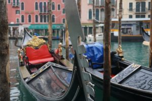 Les Gondoles à Venise