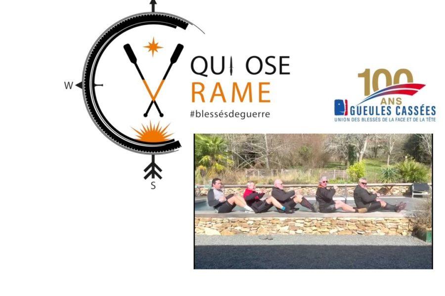Qui Ose Rame N°004 avec Didier et Véronique et les amis du Lions club de Melun Val de Seine & Doyen.